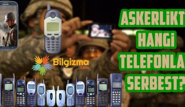 Askerlikte Kullanılacak Telefon Modelleri Hangileri?