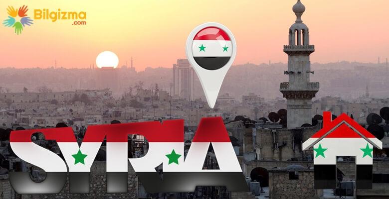 Suriye'nin Şehirleri